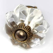 glass cabinet knobs handles for furniture or antique drawer pulls set 12 45mm