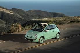 Light Green Fiat 500 For Sale 2015 Fiat 500c 1957 Edition Cabrio Retro Style From 24 700