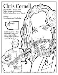 Small Picture Coloring Books Chris Cornell Free Online Coloring Page