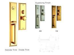 Front Door Lock Types Keyed Door Lever Entry Door Lock Types