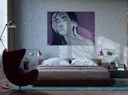 Bedroom Designs: Funky Modern Industrial Bedroom - Modern Industrial Bedroom