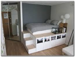 Full Size Platform Bed Frame Best Full Bed Frames With Storage ...