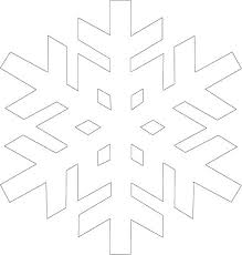 Frozen Snowflake Templates Paper Cut Out Cutting Pattern Getreach Co