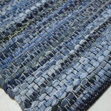 small denim rag rug kitchen bathroom rugs area rugs jute rug