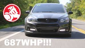 Supercharged 687WHP Chevy SS! | Better Than A Hellcat? - YouTube