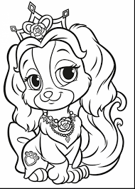 Coloring Pages Puppies Incredible Puppy Princess Bloodbrothers Me