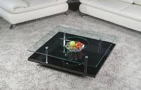 image of modern square coffee table transparance