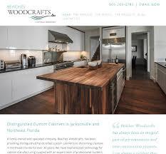 Cabinet Design Website Beaches Woodcrafts New Website Design For Custom Cabinet