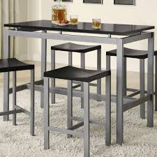 counter height vanity chair. atlus counter height contemporary silver metal table with black top and 4 stools vanity chair v