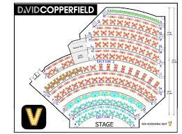 David Copperfield Vegas Seating Chart Brand Vegas