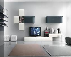 Tv Wall Units Contemporary Living Room Design Idea With Stunning Wall Mounted Tv