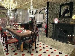Alice And Wonderland Bedroom In Wonderland Bedroom Set Round 2 In Wonderland  Kitchen Dining Room By