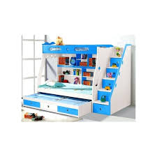 bunk bed with trundle and drawers view larger bedroom white blue wooden bunk beds with storage