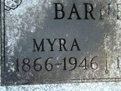 Myra Gardner Barnett (1866-1946) - Find A Grave Memorial