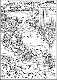 Find all couloring pages in the category garden | coloringpage.ca. 6 Country Garden Coloring Pages Stamping Carelyst