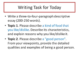 unit descriptive essays ppt video online  17 writing