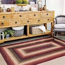 prescott black burdy jute braided rugs