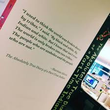 the absolutely true diary of a part time n quotes captivating  the absolutely true diary of a part time n quotes entrancing novl the absolutely true diary