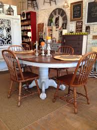 vintage round dining table 59 best claw foot table re do s images on