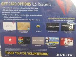 list of delta airlines gift cards p