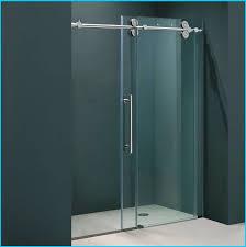 gorgeous frameless sliding shower doors glass door intended for plan 14