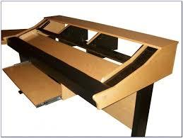 omnirax presto 4 studio desk black dimensions