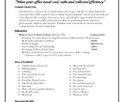 Personal Profile Resume Personal Profile Resume Graduate Foodcity Me
