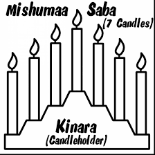Small Picture magnificent kwanzaa clip art black white with kwanzaa coloring