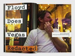 Floyd Landis in Vegas Redacted Journal