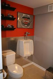 bathroom ideas men man cave bathroom the ideal bathroom for the man and harley lover just