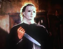 The image can be easily used for any free creative project. The Roots Cover Halloween Theme As Michael Myers Looks On Watch