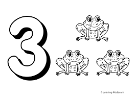 Small Picture Number 3 Coloring Pages Printable Get Coloring Pages