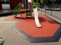 rubber play area maintenance uk