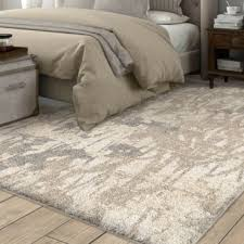Image result for ivory shag rug under bed 6x9 Bedroom Pinterest