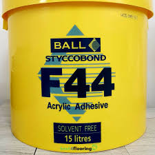 15l tub of f ball styccobond f44 acrylic adhesive