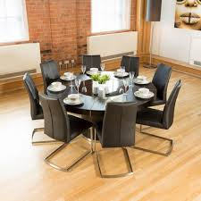 round dining table with lazy susan. Round Dining Table Lazy Susan Luxury Large Black Oak Chairs Room Tables For 8 Glass With I