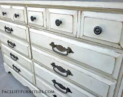how to antique white furniture. How To Antique White Furniture Antiqued Refinished Touch Up Paint T