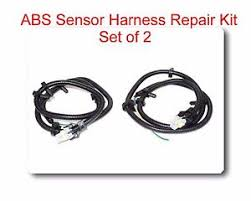 set 2 multi fit abs wheel speed sensor wire harness plug pigtail Winch Wire Harness image is loading set 2 multi fit abs wheel speed sensor