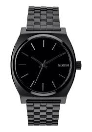 time teller men s watches nixon watches and premium accessories time teller all black