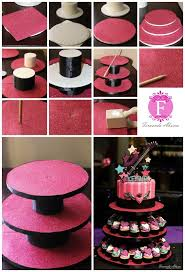 Plate Cake Stand DIY Easy Video Tutorial