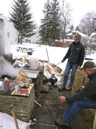 Down In North Carolina One Family Makes Maple Syrup In Its Own Backyard Maple Syrup