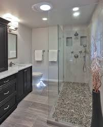 tile walk in shower floor designs