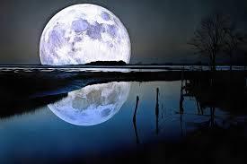 night moon canvas moon wall art moon
