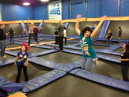 Sky Zone In Memphis I Just Went To The Skyzone In Memphis And It Was Awesome