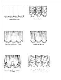 white rose austrian festoon brail roman balloon shade balloon curtains and window