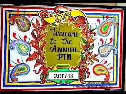 annual ptm bulletin board