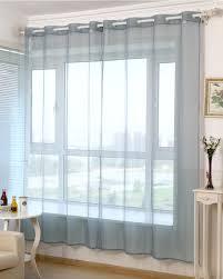Gardinen Vorhang Transparent ösenschal Kräuselband Dekoschal Avec