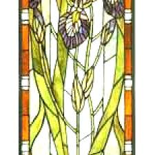 large stained glass panels furniture hanging stained glass panels decor for outside furniture s iris large stained glass panels