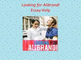 looking for alibrandi essay help