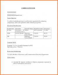 what should be the career objective in resume for freshers 8 career objectives for cv for freshers receipts template